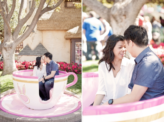 Los Angeles Disneyland Fun Engagement Photo-005