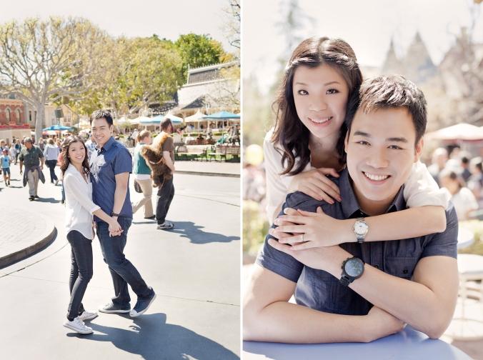 Los Angeles Disneyland Fun Engagement Photo-007