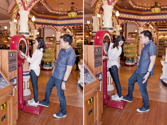 Los Angeles Disneyland Fun Engagement Photo-009