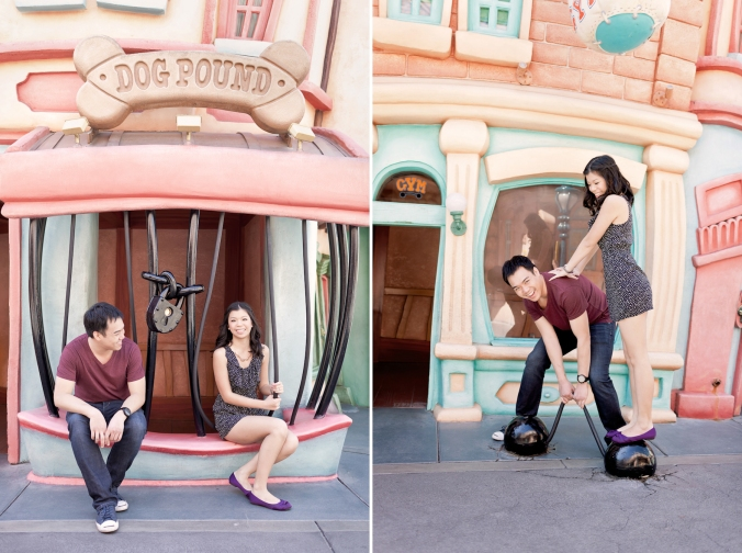 Los Angeles Disneyland Fun Engagement Photo-011