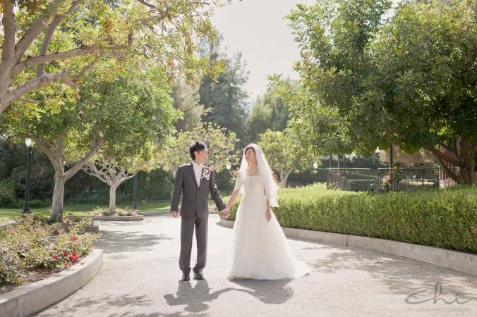 Jodie Michael Pacific Palms Los Angeles Wedding Photo 12
