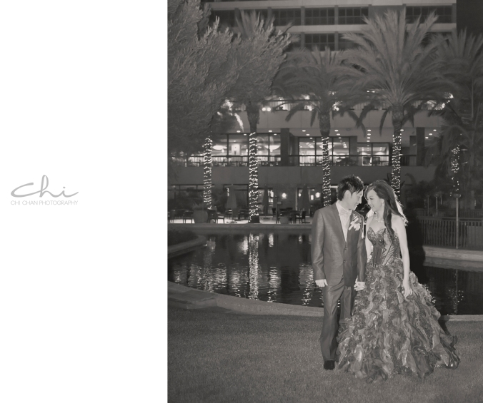 Jodie Michael Pacific Palms Los Angeles Wedding Photo 21