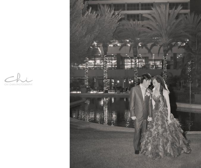 Jodie Michael Pacific Palms Los Angeles Wedding Photo 21