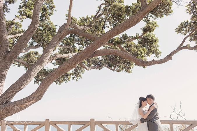 TR Eng 1 Los Angeles Santa Monica Engagement Photo