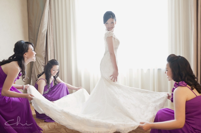 EK Wed 9 Los Angeles San Gabriel Hilton Wedding Photo