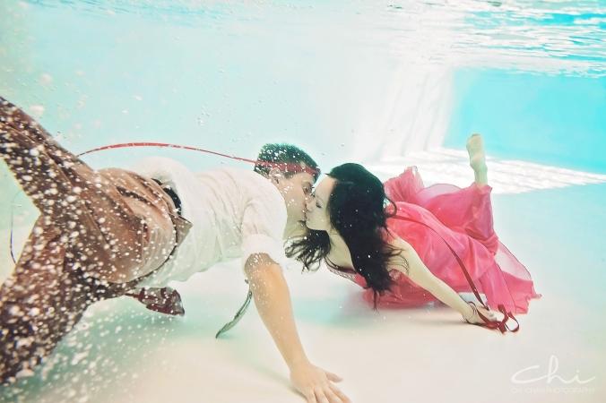 Winnie David Underwater HL009