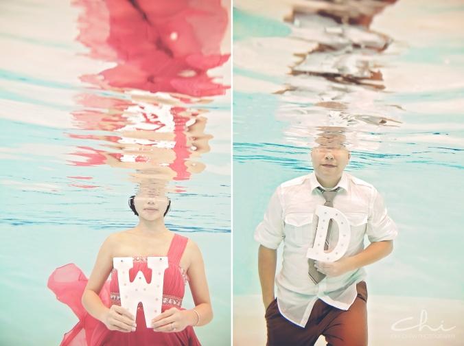 Winnie David Underwater HL018
